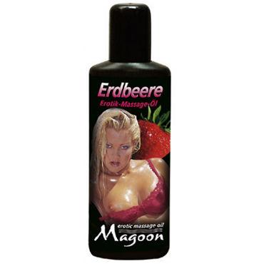 Magoon Strawberry, 100 мл Ароматизированное массажное масло массажное масло plaisir secret strawberry аромат клубники 35 мл