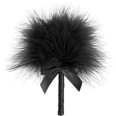 Bijoux Indiscrets Tickle Me Tickler, черная Перьевая кисточка эрекциональные кольца на член диаметр 3 4 см
