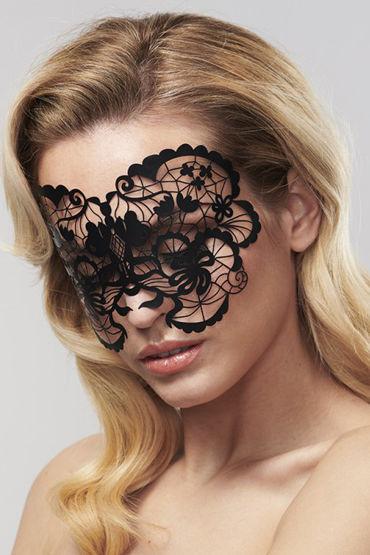 Bijoux Indiscrets Anna Mask, черная Маска маскарадная bijoux indiscrets louise mask черная маска маскарадная