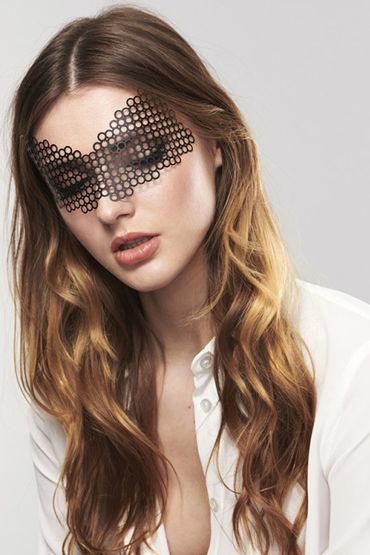 Bijoux Indiscrets Erika Mask, черная Маска маскарадная bijoux indiscrets louise mask черная маска маскарадная