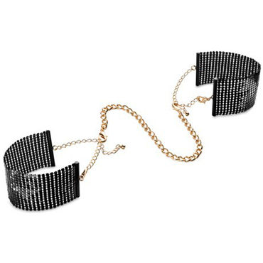 Bijoux Indiscrets Desir Metallique, черные Наручники металлические