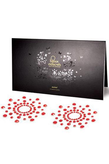 Bijoux Indiscrets MiMi, красное Украшение для груди украшения для шеи и рук материал металл