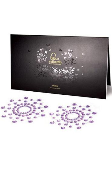 где купить Bijoux Indiscrets MiMi, фиолетовое Украшение для груди по лучшей цене