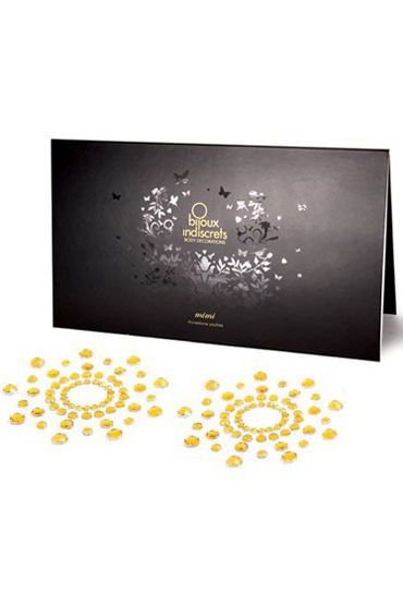 Bijoux Indiscrets MiMi, золотое Украшение для груди украшения для шеи и рук материал металл