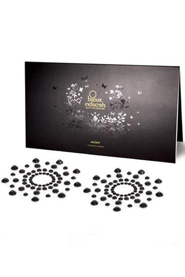 Bijoux Indiscrets MiMi, черное Украшение для груди цена и фото