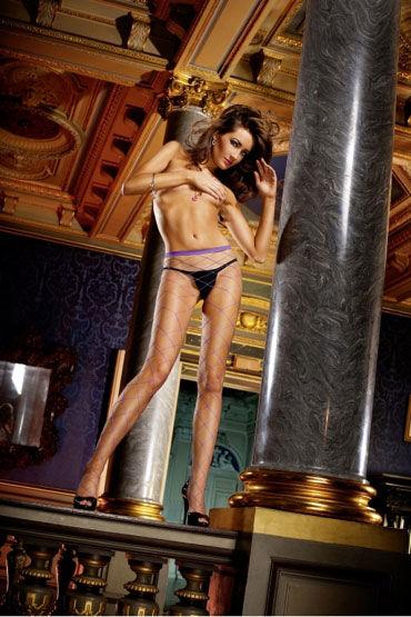 Baci колготки, фиолетовые В крупную сетку возбуждающие средства для мужчин в аптеках саратова