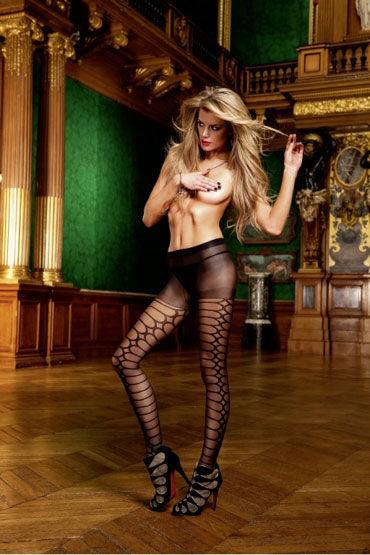 Baci колготки, черные С рисунком колготки baci lingerie