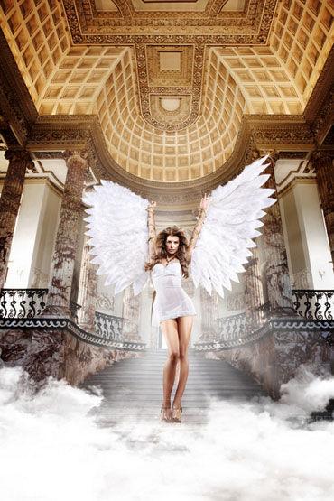 Baci мини-платье, белое С косточками и мягкими чашечками ж spanish love cream 40 vk