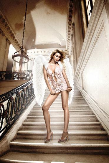 Baci мини-платье, розовое С завязками за шее ong e20686 za rm a338 djxdb