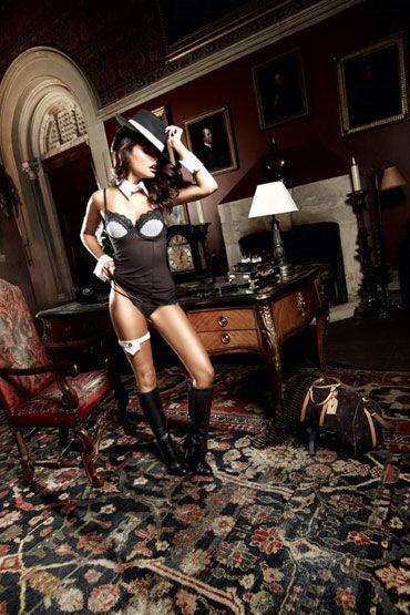 Baci мини-платье, черное Из тюлевой ткани эрекционные электрические ремни charming chuck