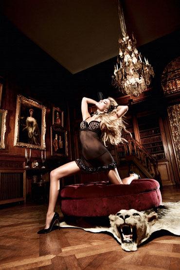 Baci мини-платье, леопардово-черное Из тюлевой ткани платьице have fun princess черное из узорчатой ткани с кружевным бюстье