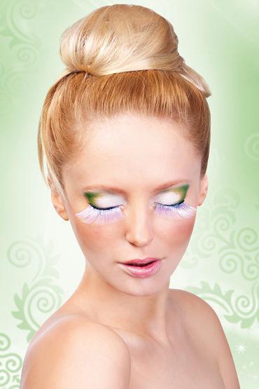 Baci Lashes, белый Длинные накладные ресницы baci lashes зеленый накладные ресницы с перьями