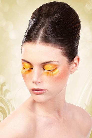 Baci Lashes, оранжевый Длинные накладные ресницы baci lashes разноцветный длинные накладные ресницы