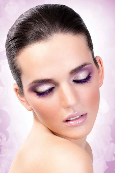 Baci Lashes Deluxe, фиолетовый Накладные ресницы ресницы brilliant crystals deluxe