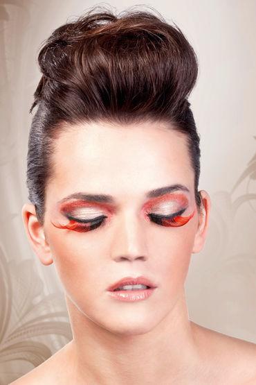 Baci Lashes, коричнево-красный Накладные ресницы electric lingerie fantasy dream крылья из натурального пуха и перьев