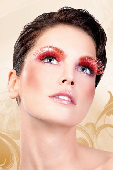 Baci Lashes, красный Длинные накладные ресницы baci lashes разноцветный длинные накладные ресницы