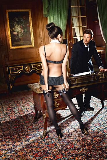 Baci Dreams Sexy Secretary Чулки к костюму секретарши чулки baci lingerie obedient slave высокие черные 42 46