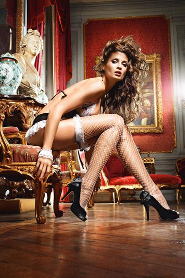 Baci Dreams French Maid Чулки в крупную сетку чулки baci lingerie laundry french maid высокие черные 42 46
