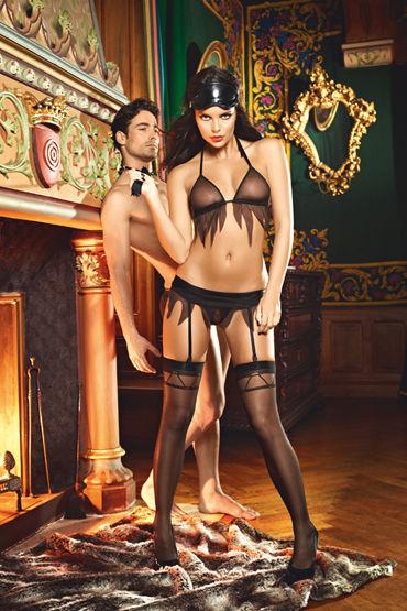 Baci Dreams Obedient Slave С оригинальным узором чулки baci lingerie obedient slave высокие черные 42 46