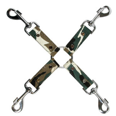 NS Novelties Kinky Camo Крестообразное соединение spider backside hands free черный usb