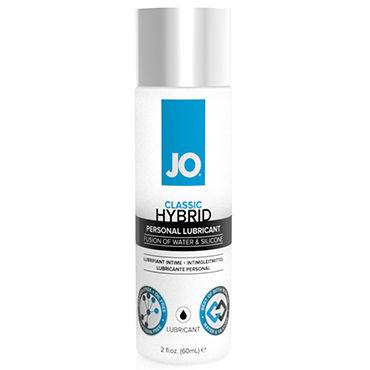 Тестер System JO Hybrid Lubricant Лубрикант на водно-силиконовой основе нейтральный любрикант на водной основе jo personal lubricant h2o 120 мл