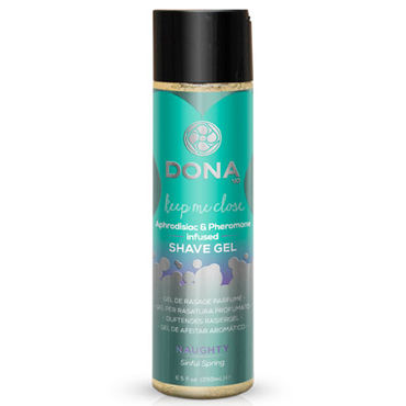 Dona Shave Gel Naughty Aroma Sinful Spring, 250 мл Гель для душа и бритья с ароматом Шалость desire массажное масло 150 vk g