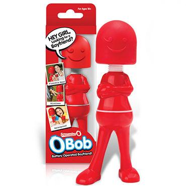 Screaming O Bob Оригинальный массажер с гибкой головкой screaming o man spark виброкольцо со стимулирующими шариками