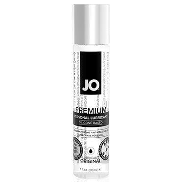 System JO Premium Lubricant, 30 мл Нейтральный лубрикант на силиконовой основе ns novelties jolie ripples черный средняя анальная пробка с держателем