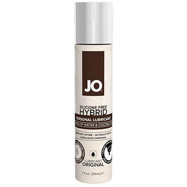 System Jo Hybrid, 30 мл Лубрикант на основе воды и кокосового масла т гели и смазки для использования с игрушками system jo