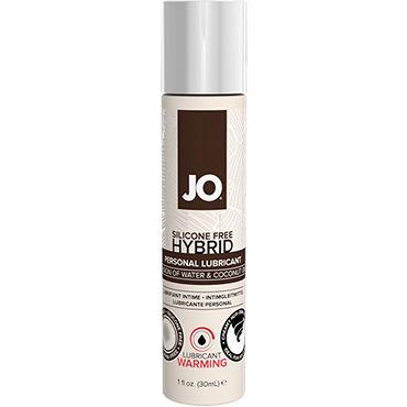 System Jo Hybrid Warming, 30 мл Возбуждающий лубрикант на основе воды и кокосового масла pink indulgence creme 100 мл гибридный крем лубрикант для женщин