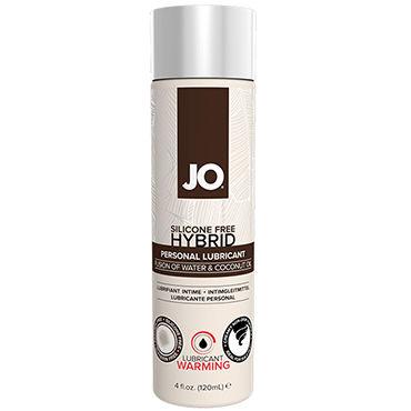 System Jo Hybrid Warming, 120 мл Возбуждающий лубрикант на основе воды и кокосового масла тестер system jo refresh foaming toy cleaner 50мл