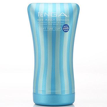 Tenga Soft Tube Cool Edition Одноразовый мастурбатор с охлаждающим эффектом a spool of blue thread