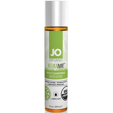 System JO Organic NaturaLove, 30 мл Органический лубрикант на водной основе, с экстрактом ромашки soft line пеньюар стринги белые