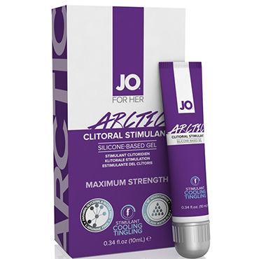 System JO Clitoral Gel Arctic, 10 мл Стимулирующий гель для клитора на силиконовой основе гель для ванны и душа shiatsu shower yuzu ginger 400 ml имбирь