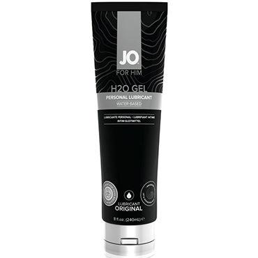 System JO H2O Gel For Him, 240 мл Мужской лубрикант на водной основе для индивидуального использования тестер system jo organic naturalove органический лубрикант на водной основе с экстрактом ромашки