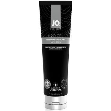 System JO H2O Gel For Him, 120 мл Мужской лубрикант на водной основе для индивидуального использования тестер system jo organic naturalove органический лубрикант на водной основе с экстрактом ромашки