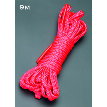 Sitabella веревка 9м., красный Мягкая на ощупь lux fetish веревка красная для связывания