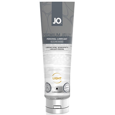 System Jo Premium Jelly Light, 120 мл Концентрированный лубрикант на силиконовой основе, легкая текстура масло интимное массажное shunga полночный щербет 100 мл