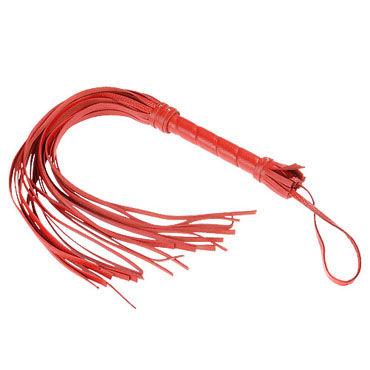 Sitabella плеть красный С жесткой рукояткой, 40 см lelo sensua черный замшевая плеть для страстных игр