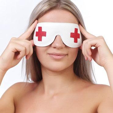 Sitabella маска кресты Закрытая с подкладкой sitabella маска x белый с металлическими заклепками