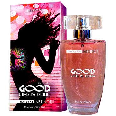 Natural Instinct Life is Good для женщин, 50 мл Духи с феромонами г съедобная косметика аромат – клубника
