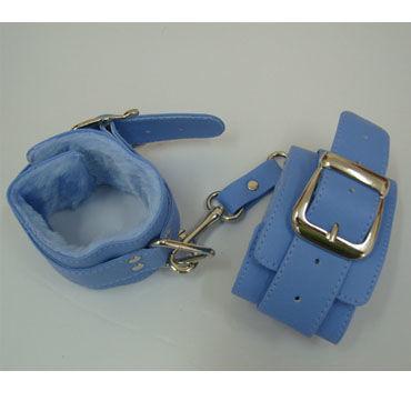 Sitabella наручники голубой С подкладкой из искусственного меха sitabella наручники серебристо голубой с подкладкой из искусственного меха