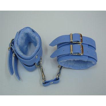 Sitabella наручники Two голубой С подкладкой из искусственного меха sitabella наручники серебристо голубой с подкладкой из искусственного меха