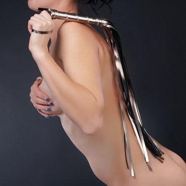 Sitabella Плеть серебряный Гладкая, с длинными хвостами sitabella плеть красная с длинными хвостами