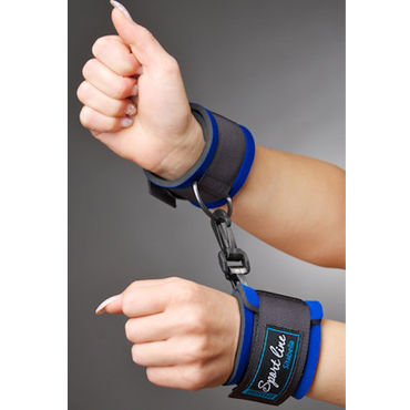 Sitabella наручники Мягкие, на липучках bioclon real standard 5 8 телесный фаллоимитатор реалистичный на присоске