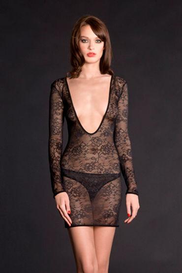 Maison Close, ночная сорочка Villa Des Lys Mini Robe С длинными рукавами maison close rue des demoiselles body string