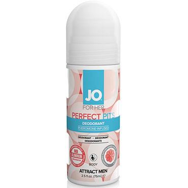 System JO Pheromone Deodorant Women, 75мл Дезодорант с феромонами для женщин shiatsu pheromone man 25мл духи с феромонами для мужчин