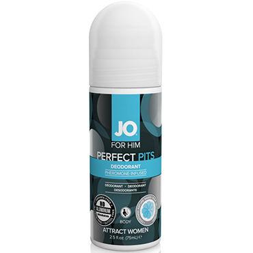 System JO Pheromone Deodorant Men, 75мл Дезодорант с феромонами для мужчин shiatsu pheromone man 25мл духи с феромонами для мужчин