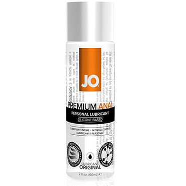 System JO Anal Premium, 60 мл Анальный лубрикант на силиконовой основе тестер system jo peachy lips 3 мл