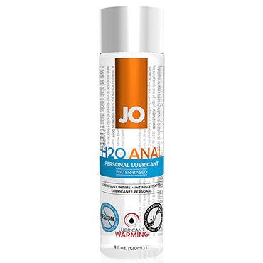 System JO Anal H2O Warming, 120 мл Анальный согревающий лубрикант на водной основе baile вибромассажер 21 см водонепроницаемый